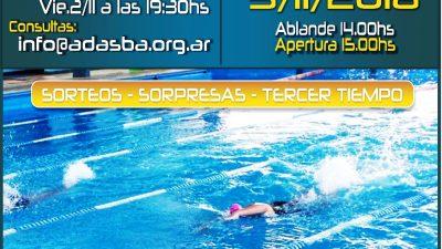 Monte Hermoso / Más de 230 nadadores de toda la región competirán en el Natatorio de Monte en la 4º fecha de la ADASBA