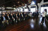 Con un discurso de campaña, Vidal arengó a su tropa en la República de los Niños