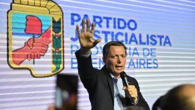 """Fernando Gray asumió como presidente del PJ de la provincia y aseguró """"vamos a devolverle los derechos al pueblo"""""""