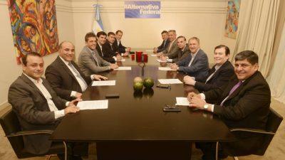 Massa, Pichetto y un grupo de gobernadores presentaron #AlternativaFederal