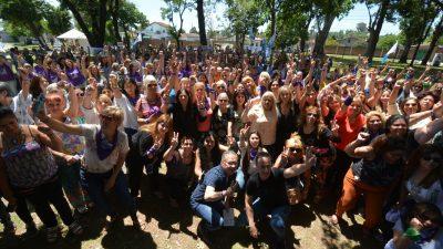 Más de 400 mujeres peronistas se reunieron en Ituzaingó y bregaron por la Unidad