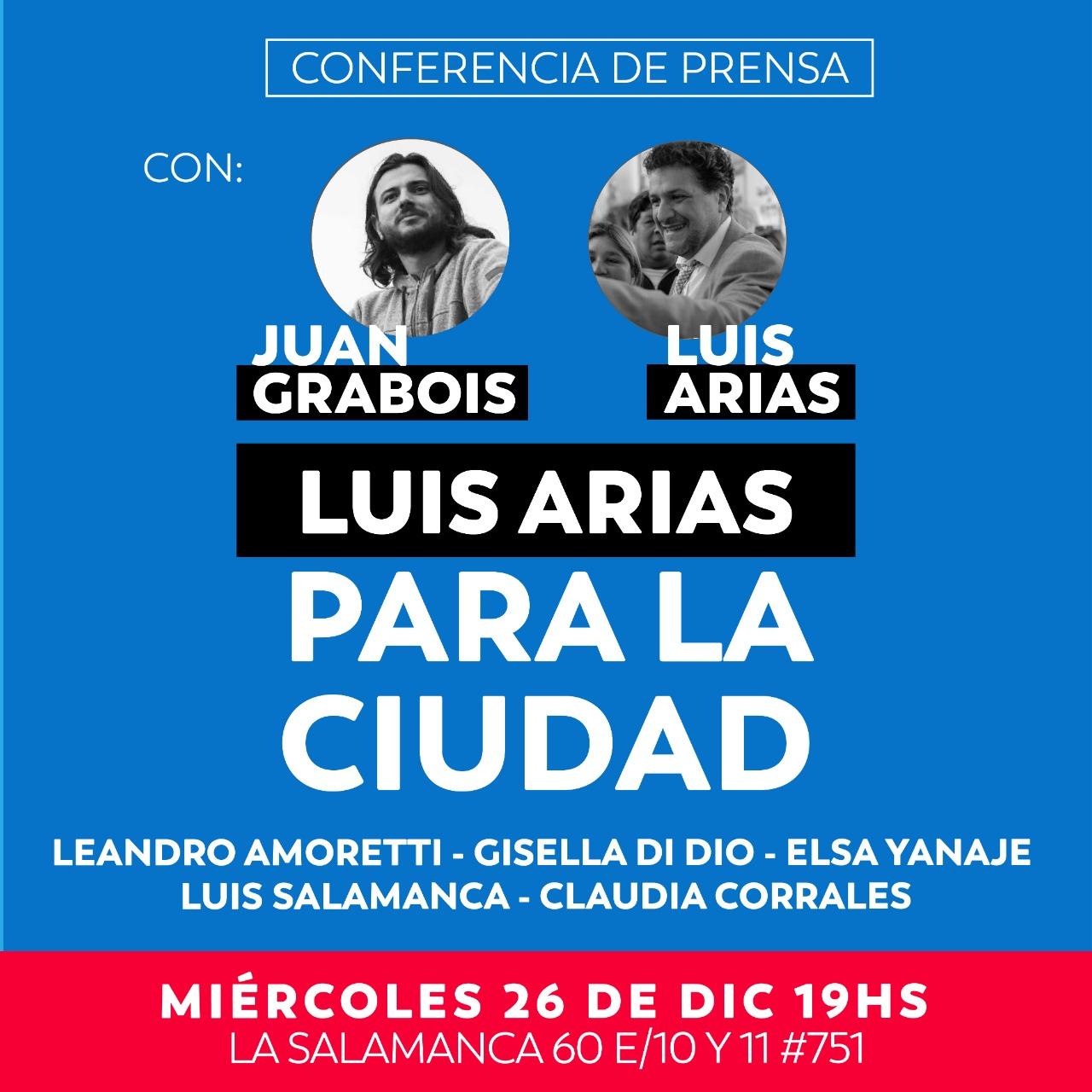 """Grabois visita La Plata y cierra el año con Luis Arias, el ex juez """"socialista"""" que se posiciona de cara al 2019"""