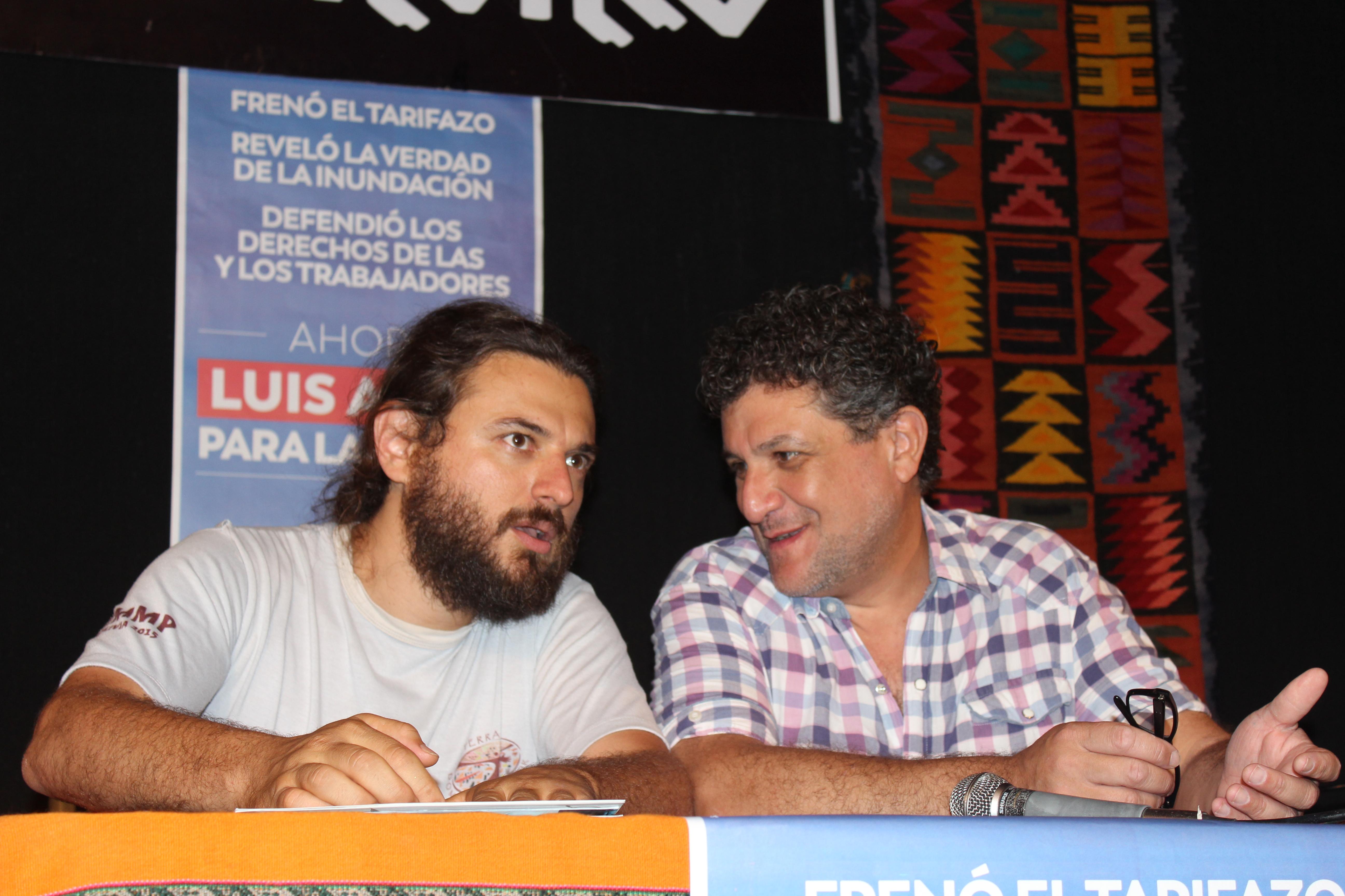 El ex Juez Arias lanzó su candidatura a intendente de La Plata junto al dirigente social Juan Grabois y pidió por CFK presidenta