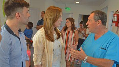 """Vidal recorrió Pila y Castelli: """"La provincia va a apoyar todo lo que sea creación de empleo"""""""