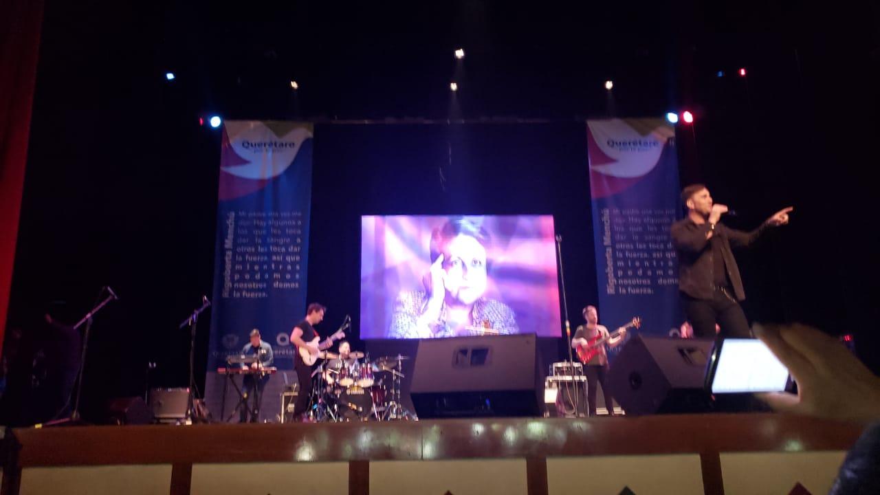 Odino cantando en Querétaro