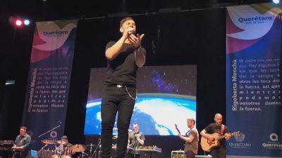 """El cantante Odino Faccia impulsa en México """"Querétaro por la Paz"""""""