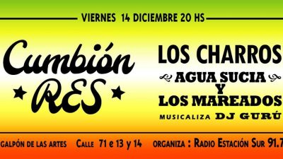 Llegan Los Charros a La Plata de la mano de Radio Estación Sur