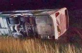 Volcó un micro camino a Mar del Plata: Hay 3 heridos de gravedad