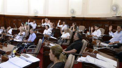 La Plata / En una súper sesión, el Concejo aprobó el Presupuesto 2019, la Reforma Impositiva, varios desarrollos urbanos y un plan de loteo