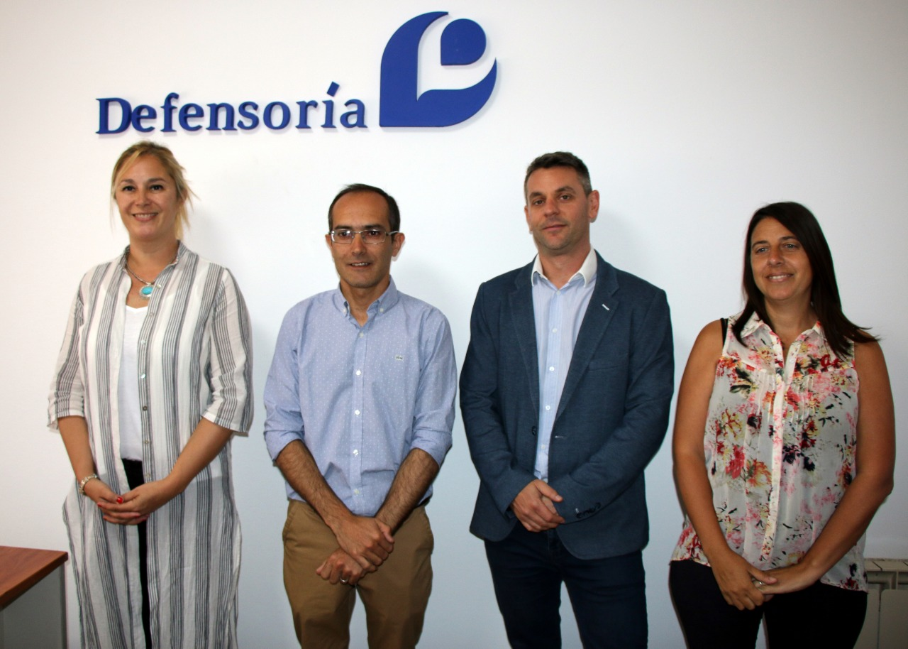 Pisano inauguró en Bolívar una nueva delegación de la Defensor del Pueblo de la Provincia
