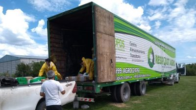 Con 3 mil envases vacíos de agroquímicos cerró la segunda Campaña de Recolección de Necochea