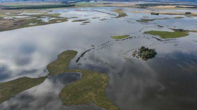"""Según Daletto: """"Avanzan los proyectos hídricos para evitar inundaciones en el noroeste bonaerense"""""""