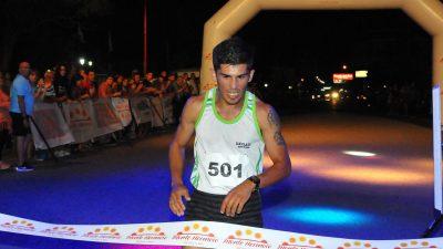 El Bahiense Lucas Machado se quedó con 8va edición del Monte Corre 10K Nocturno