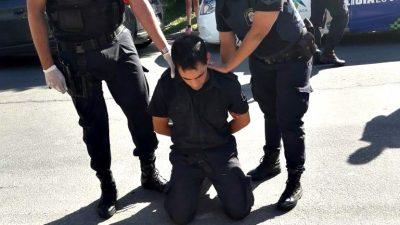 Increíble: en La Plata detuvieron a un policía sospechado de salir a robar con el uniforme puesto