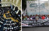 La Legislatura bonaerense trata el Presupuesto 2019: afuera gremios y organizaciones reclamaran que se rechace