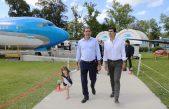 Juan Manuel Urtubey estuvo en La Plata y visitó la República de los Niños junto al intendente Julio Garro