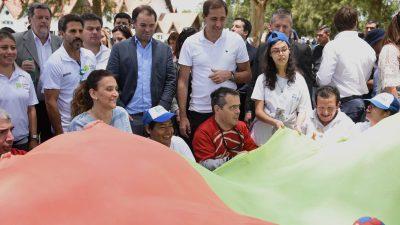 Garro y Michetti participaron del programa InclusiVOS con más de 4000 jóvenes y adultos con discapacidad