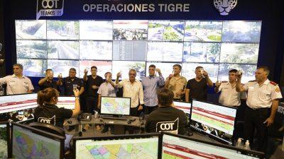 """Massa se volvió a mostrar con Zamora en Tigre y despejan los rumores de """"ruptura"""""""