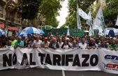 Tras la marcha de antorchas contra los tarifazos se vaticina un paro general para marzo o abril