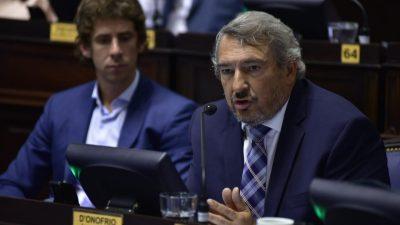 """D´Onofrio le apuntó directamente a Macri: """"El DNU que presentaron es un mamarracho"""""""