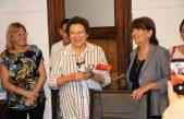 Bolívar / Ana Natiello entró en funciones como intendenta por 15 días