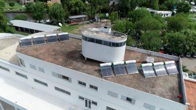 El Club Regatas de La Plata apuesta a la sustentabilidad instalando 10 termotanques solares