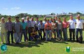 Hipólito Yrigoyen fomenta la actividad hortícola de productores locales