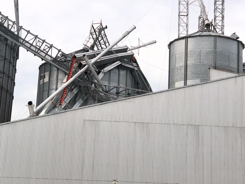 Una nueva tormenta con fuertes vientos afectó al distrito de General Villegas
