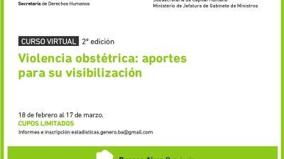 El municipio de H. Yrigoyen lanza un curso virtual sobre Violencia obstétrica, en busca de su visibilización