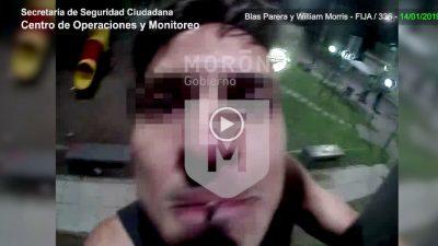 Un salame: quiso robarse una cámara de seguridad y fue detenido