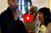 """VIDEO / Pichetto se sometió a la """"prueba del agua"""" de Santa Teresita: """"Es muy salada"""", reconoció"""