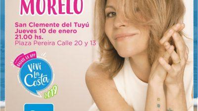 Marcela Morelo se presentará esta noche en San Clemente en la 3era edición de RockeArte