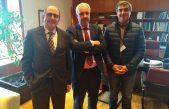 Durañona expuso sobre el Plan Hídrico en la cuenta del Río Areco en Madrid