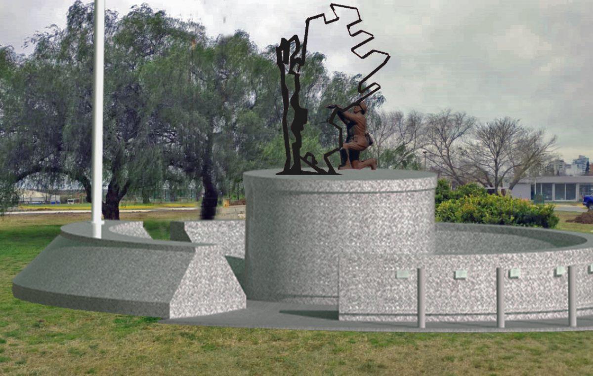 San Nicolás / Realizan un nuevo monumento para los caídos en malvinas