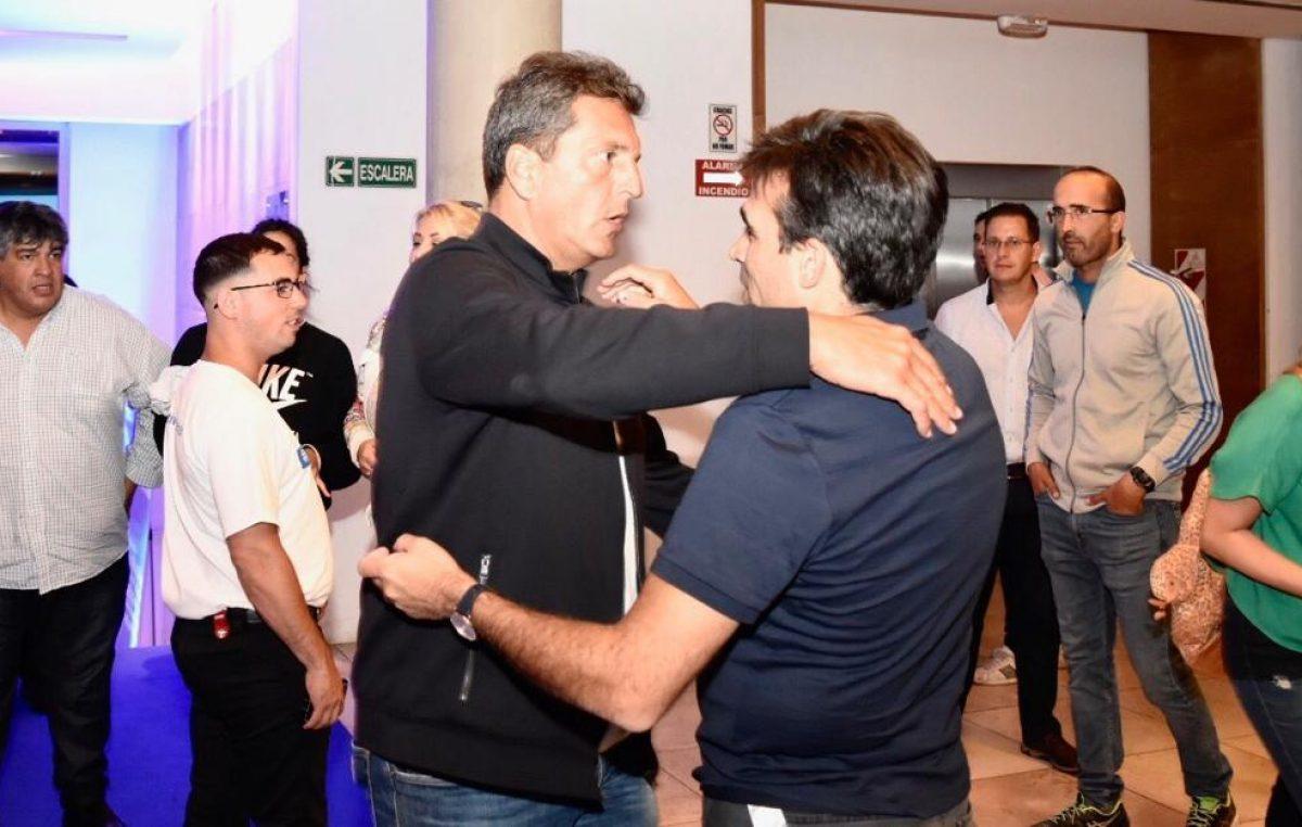 Facundo López estuvo con Massa en Mar del Plata en el lanzamiento de Alternativa Federal