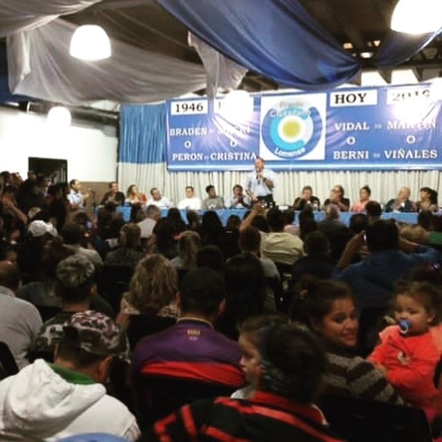 Sergio Berni en Lomas de Zamora se posiciona para ser candidato a gobernador por el peronismo