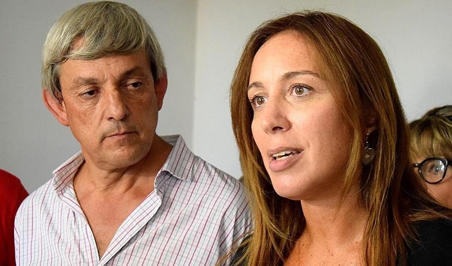 """Vidal visitó Hipólito Yrigoyen y recorrió las obras del """"Polo Educativo"""" con el intendente Cortes"""