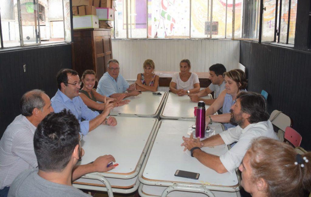 Marcelo Daletto en Pehuajó junto a dirigentes de Cambiemos