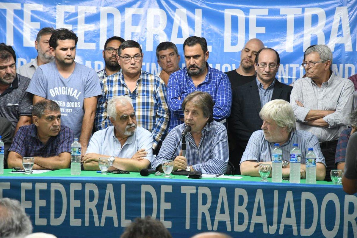 Gremios disidentes de la CGT le reclaman a la central un plan de acción en medio de la crisis