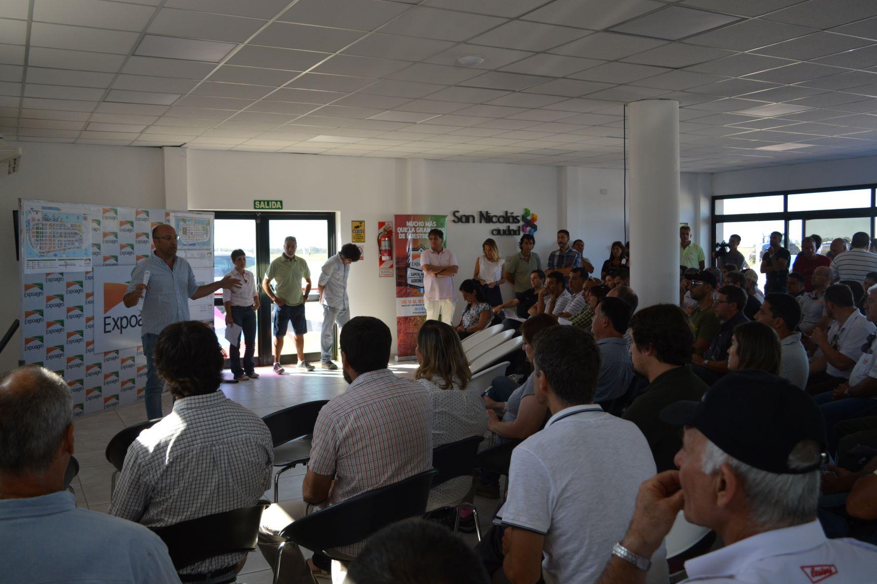 San Nicolás se prepara para recibir una nueva edición de Expoagro