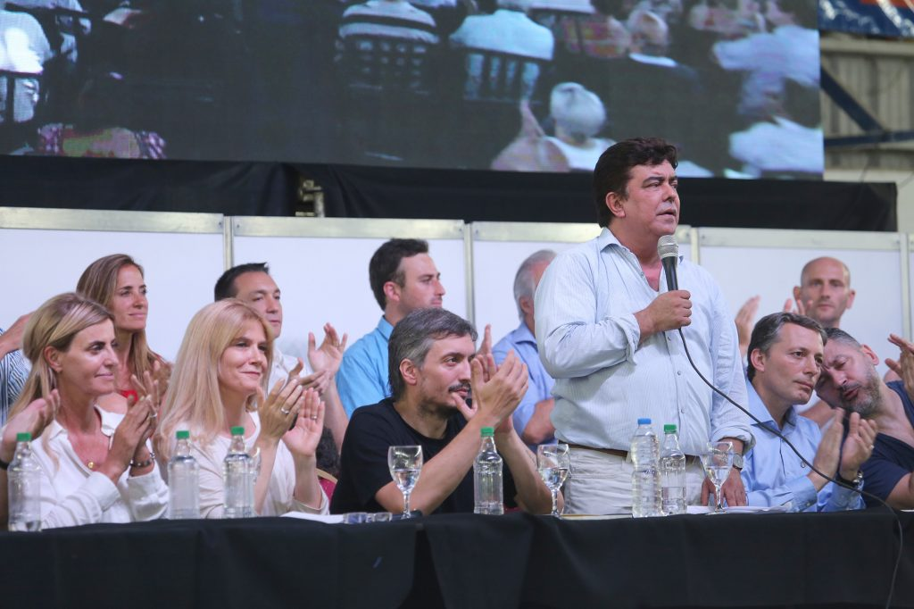 Espinoza en el Congreso del PJ en La Matanza