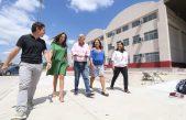 Grindetti y Vidal visitaron el polo educativo la Nave Osorio en Lanús