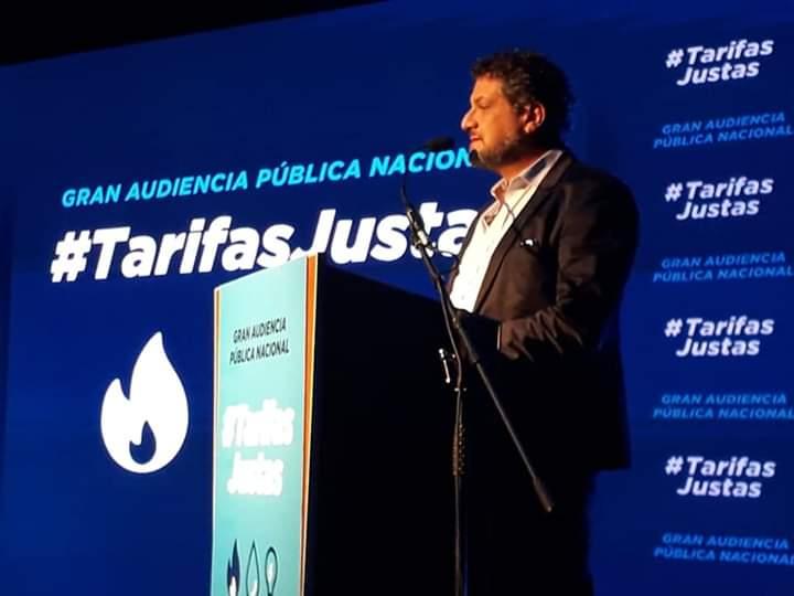 """Luis Arias en Audiencia Pública: """"Se realizó un enorme negocio para los amigos del presidente Caputo, Mindlin y Pagano"""""""