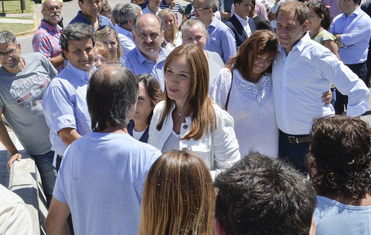 """Vidal y Garro arrancaron la campaña inaugurando obras """"muy importantes"""" para La Plata"""