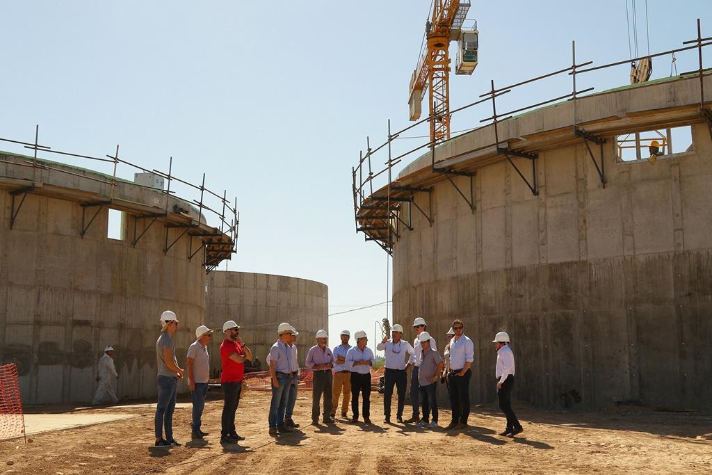 Resultado de imagen para Avanzan obras de construcción de una central térmica en Pergamino