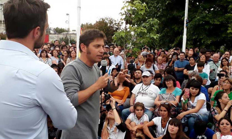 Axel Kicillof vuelve a las recorridas ¿lanzará su candidatura a gobernador de la provincia?