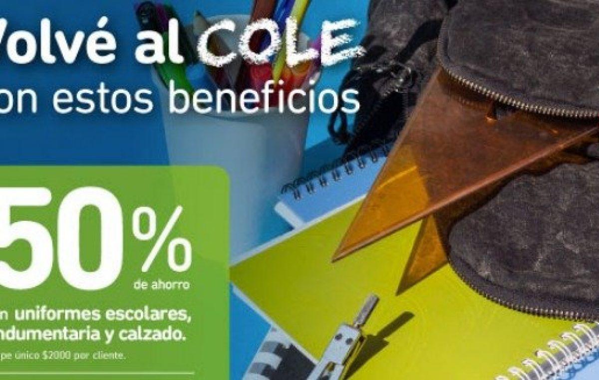 """El Banco Provincia lanzó la promo """"vuelta al cole"""" con descuentos de entre 30 y 50% que también incluye a docentes"""