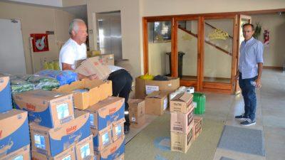 Bolívar solidario con Chaco: enviaron un camión de donación para los inundados