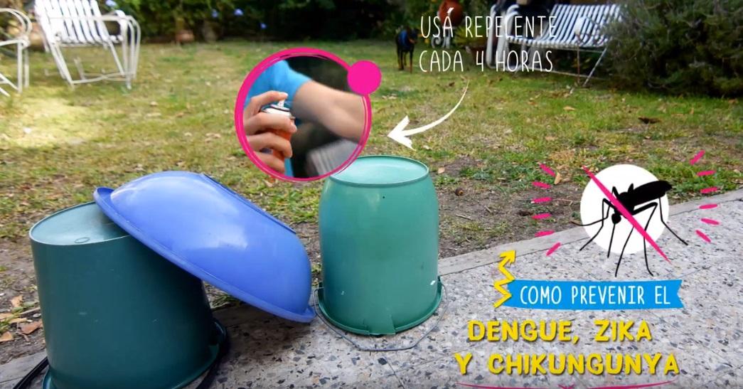 La Plata / El municipio lanza un campaña de concientización y prevención contra el Dengue, Zika y Chikungunya