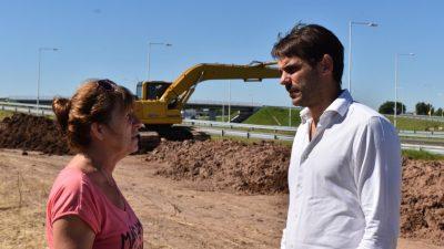 """Avanza el saneamiento del zanjón Novau: """"Es una obra que debió hacerse hace 40 años"""", aseguró Passaglia"""